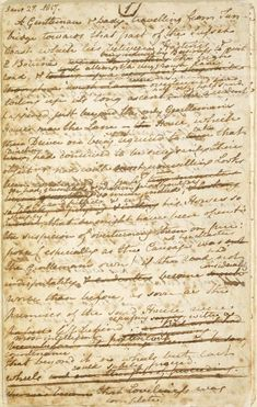 Jane Austen Sanditon Manuscript