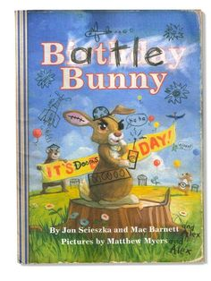 Battle Bunny by Jon Scieszka and Mac Barnett Gr K to 2 Getting a great book for your birthday can be awesome!  Funny animals, brave battle scenes, heroic quests? Yes!  But when Alex gets a boring book from a well-meaning aunt, he is not going to put up with it.  Using his great imagination and a small pencil, Alex rewrites the story...and this book will never be the same.—Natasha Forrester, Capitol Hill Library, OR #sljbookhook