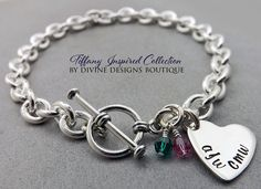 A personal favorite from my Etsy shop https://www.etsy.com/listing/232985067/silver-anklet-personalized-jewelry