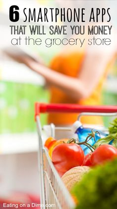 Don't want to coupon but still want to save money on groceries? No problem! You can use your cell phone to save money. Here are the 6 TOP Money Saving Apps that will save you money at the grocery store.