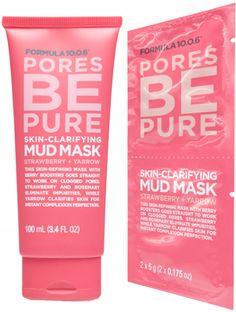 Formula 10.0.6 | Pores Be Pure | Skin-Clarifying Mud Mask | Strawberry + Yarrow