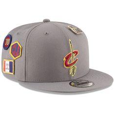 479d6cc7bcb Men s Cleveland Cavaliers New Era Gray 2018 NBA Draft 9FIFTY Adjustable Hat