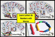 Busy Bag: Learn Letters and Numbers with door CuriousMindsBusyBags