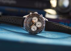 """The Most Expensive Example Of The Ultra-Rare Heuer Autavia 2446 Ever Offered, At Over $200,000 (And More)"" via @watchville"
