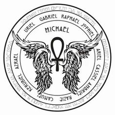 Sigils are symbols created to focus and upon and be charged for a certain purpose. This sigil was created as a focus for communication w. Archangel Gabriel Symbol, Archangel Michael Tattoo, Archangel Raphael, Occult Symbols, Magic Symbols, Ancient Symbols, Angel Sigils, Kreis Tattoo, Seven Archangels