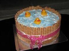 Rubber ducky cake.