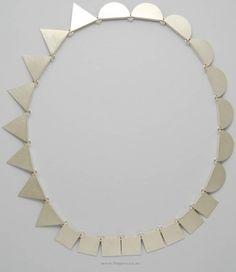 Contemporary New Zealand Jewellery - Kobi Bosshard Contemporary Jewellery, Modern Jewelry, Jewelry Art, Silver Jewelry, Jewelry Accessories, Jewelry Necklaces, Jewelry Design, New Zealand Jewellery, Geometric Jewelry