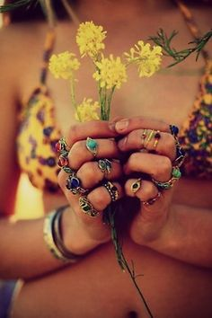 I so adore rings! ...Too bad I always lose them...
