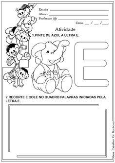 atividade-letra-e-corte-e-recorte-educativo-o-+elefantinho-letra-e.jpg (1131×1600)