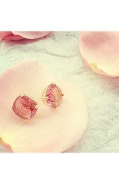 Pretty petals. Pretty earrings. Pin it AND want it...whistling Christmas songs. Hmmm, why are there no Mother Day songs?