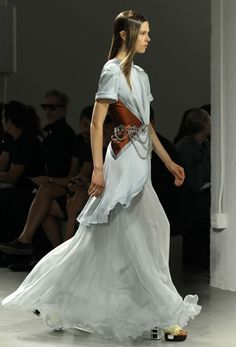 Rodarte Spring 2013 collection at Fashion Week in New York, Tuesday, Sept. 11, 2012.