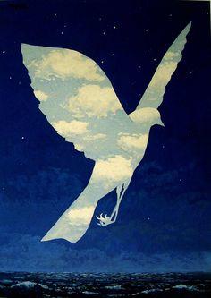 La entrada en escena, de René Magritte