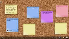El Lado Curioso & Geek De La Red  ®: NoteApp: tablero online infinito para colocar nota...