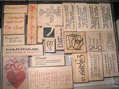 rubber stamp storage ideas