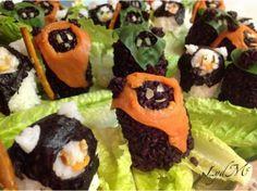 star wars sushi 590x442 Star Wars Ewok Themed Sushi