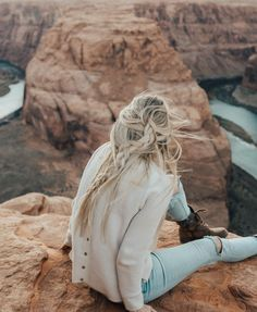 Photo by Anna Lyn Cook   Travel + Style on July 06, 2020. Image may contain: one or more people, shoes and outdoor. Visit Arizona, Arizona Travel, Travel Hairstyles, Braided Hairstyles, Blonde Hair Inspiration, Blonde Braids, Plan Your Trip, Travel Around, Travel Style