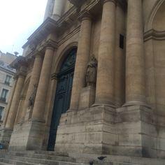 Église de Saint Roch, Paris, où on trouve la sépulture de Marie Anne de Bourbon, fille du Roy Louis XIV et Louise de La Vallière