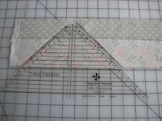 Strip Tubing quilt blocks - great tutorial