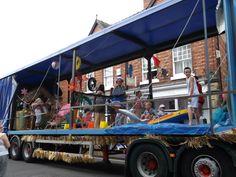 Ellesmere Shropshire Carnival float