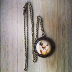 Collar vintage globos / anna's vintage - Artesanio