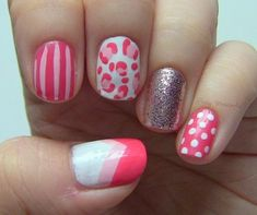 17 Mismatched Nails Designs - Fashion Diva Design