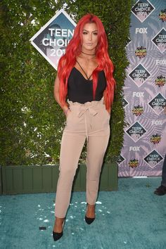 Natalie Eva Marie - Every Look from the 2016 Teen Choice Awards - Photos