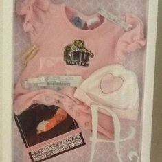 Baby Girl Shadow Box