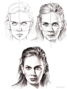 How to Draw a Face - 25 Step by Step Drawings and Video Tutorials | Read full…