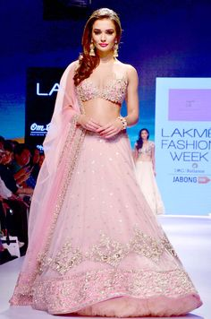 Amy Jackson at the grand finale of Lakme Fashion Week Winter/Festive 2015. #Bollywood #LFW2015 #Fashion #Style #Beauty #Sexy #Hot #Desi