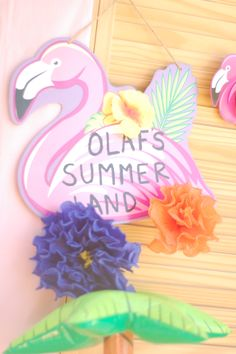 olaf's summer land party