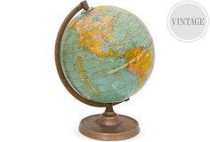 1950s  Classroom Globe on OneKingsLane.com