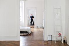 #white makes a pretty home {Horst Meier's home in Frankfurt}