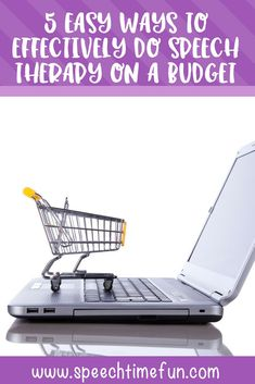 5 Easy Ways to Effectively do Speech Therapy on A Budget #speechtherapy #freespeechtherapy