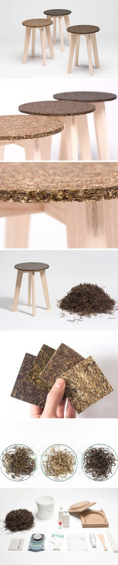 This minimalist stool design is not only stylish but sustainable! Its seat is formed from a material you might never have heard of called eelgrass found along the beaches of the North Sea. From Germany alone, thousands of tons of this submerged aquatic vegetation wash up and are removed before being sent to landfills. Designer Carolin Peitsch saw an opportunity to put the plentiful grass to use and created a fiber-reinforced eco plastic made with the aid of bio-resin.