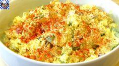 "The Wolfe Pit: Classic Potato Salad - ""NO Potato"" Potato Salad - (Low Carb Recipe)"