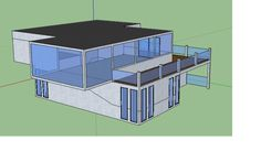 Cargo Container House Plans | Shipping Container House design