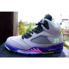 e7b6f4fe645 AIR JORDAN 5 (FRESH PRINCE OF BEL AIR) Sneaker Freaker ❤ liked on Polyvore
