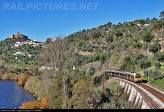 RailPictures.Net Photo: CP 2258 Caminhos de Ferro Portugueses Alsthom CP 2240 series at Belver, Portugal by J.C.POMBO