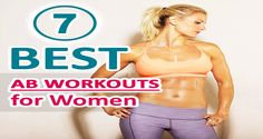 7 Of The Best Abs Workouts For Women at Home