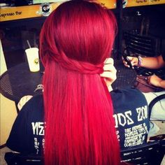wanna dye my hair this color- now i just need it to grow !