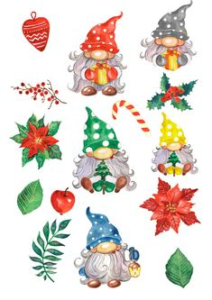 Etsy Christmas, Christmas Gnome, Nordic Christmas, Christmas Art, Christmas Ornaments, Christmas Tables, Modern Christmas, Christmas Holidays, Christmas Clipart Free