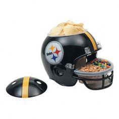 Pittsburgh Steelers Snack Helmet  http://www.fansedge.com/Pittsburgh-Steelers-Snack-Helmet-_1216849595_PD.html?social=pinterest_pfid44-28903