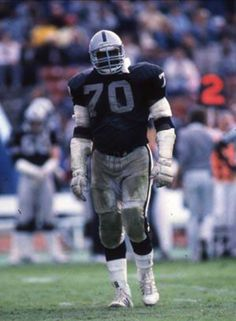 T   Henry Lawrence played on all 3 Raiders Superbowls