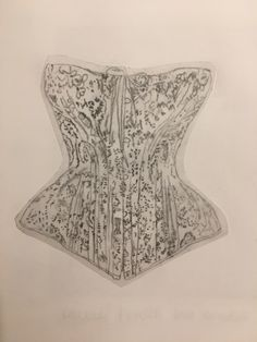 #fashion #sketches #sketching Fashion Sketches, Sketching, Corset, Fashion Sketchbook, Bustiers, Corsets, Fashion Drawings, Sketch, Sketches