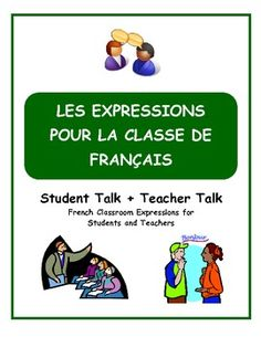 Give your students all of the tools to speak to you and to each other en français in class every day!