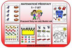 Pracovní listy - matematické představy