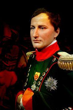 Napoleon Bonaparte,   Madame Tussauds Wax Museum, Vienna, Austria.