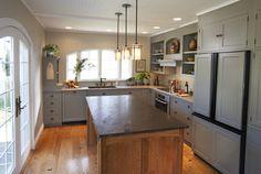 Quarter Sawn Oak Cabinets Kitchen | 1,783 Quarter sawn white oak cabinetry Home Design Photos