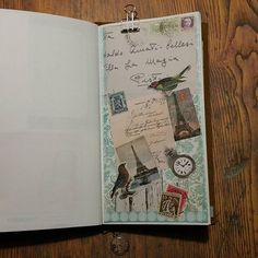 #journaling #journal #journaltime #scrap #scrapping #diary #dagboek #artjournal #ephemera #vintagestyle #stamps #poststamps #vintagestamps #postzegels #collage #scrapbook #paperaddict #paperlove #paperlover #paper #papier #papierliebe #papierliefde #papierverslaafd #mtn #tn #travelersnotebook #travelerscompany