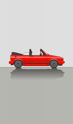 Vw Cabrio, Car Volkswagen, Mk1, Cannon, Old School, Audi, Cars, Vehicles, Golf